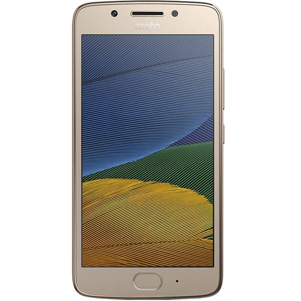 "Smartphone Motorola Moto G5 Ouro 32GB 5.0"" Android Nougat 7.0 XT1672"
