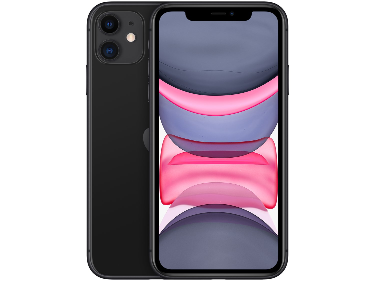 Smartphone Apple iPhone 11 Preto 64GB