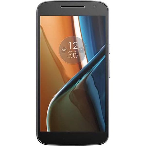 "Smartphone Motorola Moto G4 Preto 16GB 5.5"" Android 6.0.1 Marshmallow XT1626"