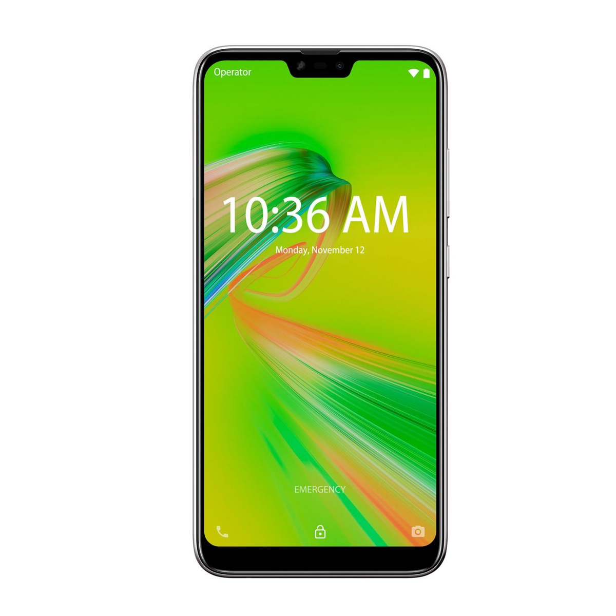 "Smartphone Asus Zenfone Max Shot Prata 32GB 6.2"" Android 8.0 Oreo ZB634KL"