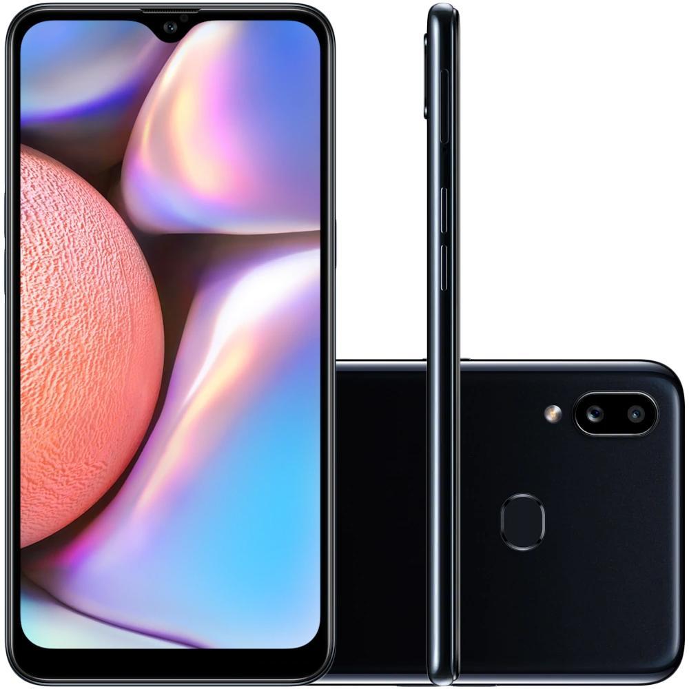 Smartphone Samsung Galaxy A10s Preto 32GB