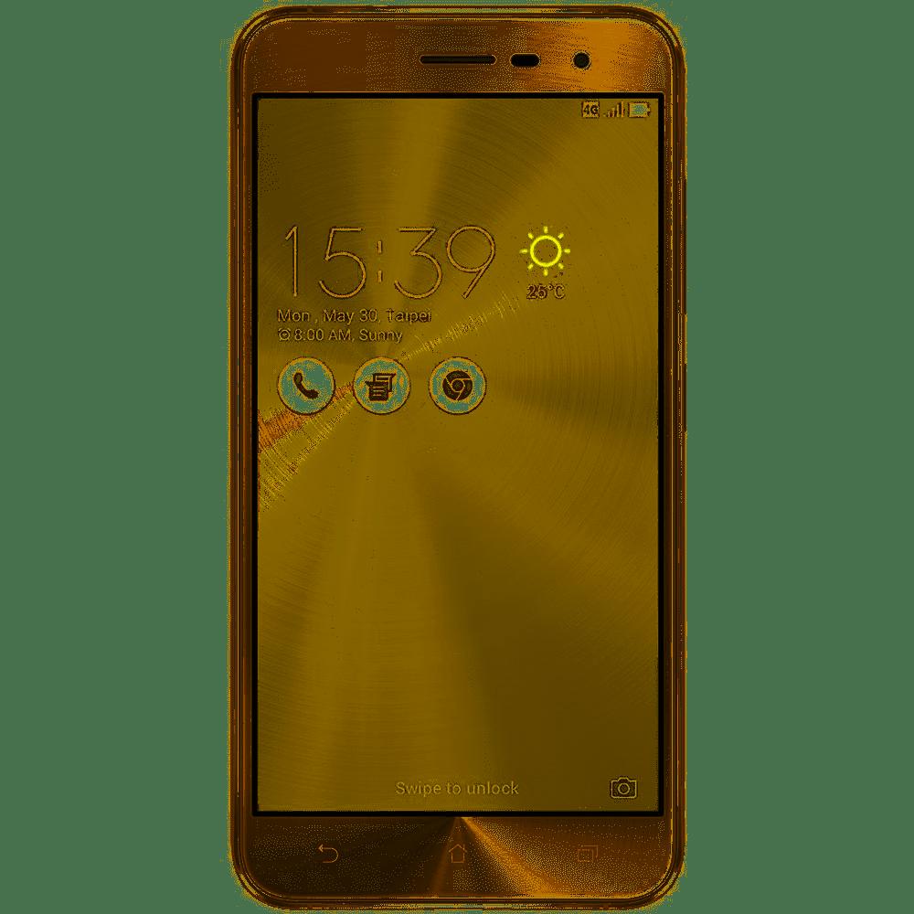 Smartphone Asus Zenfone 3 Dourado 32GB 5.2 Android 6.0.1 Marshmallow ZE520KL