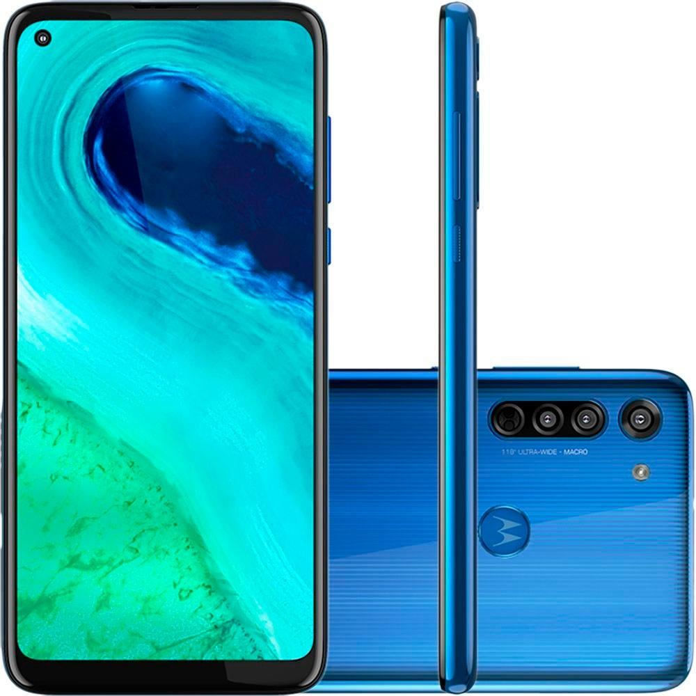 Smartphone Motorola Moto G8 Azul Capri 64GB