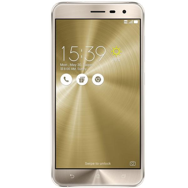 Smartphone Asus Zenfone 3 Dourado 16GB 5.2 Android 6.0.1 Marshmallow ZE520KL